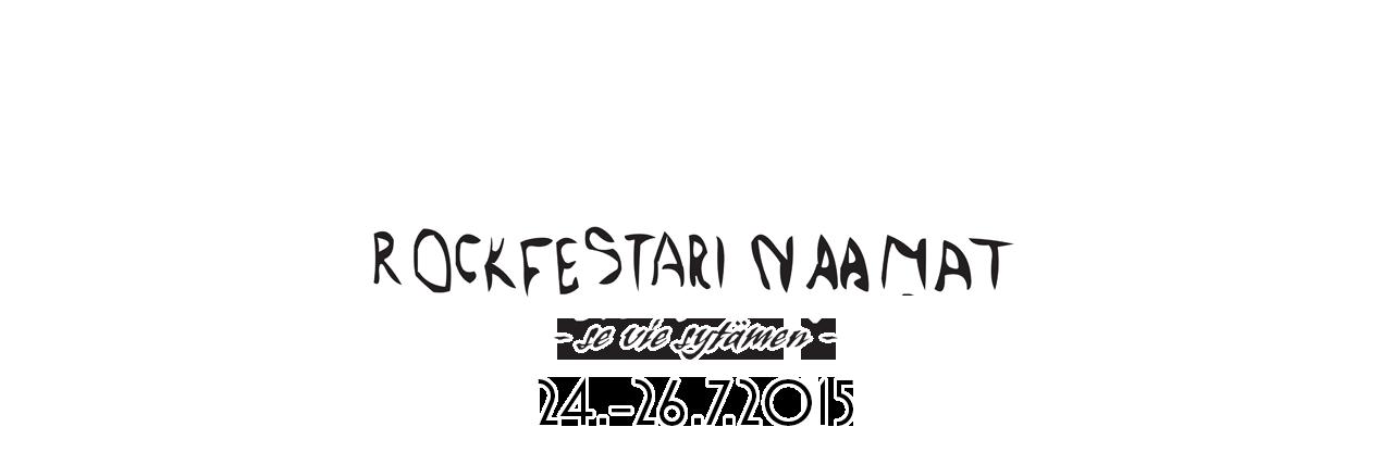 Rockfestari Naamat 24.-26.7.2015 (K-18)